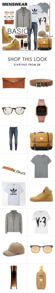 """""""BASIC"""" by andrea2andare ❤ liked on Polyvore featuring Red Clouds Collective, A.P.C., Cutler and Gross, Nixon, Scotch & Soda, Sandqvist, J.Crew, adidas, NIKE and rag & bone"""