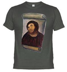 Ecce Homo t-shirt. #Cecilia #Borja #Spain