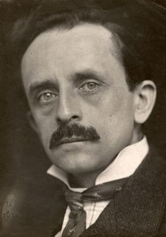 j.m. barrie ~ Author of Peter Pan and Wendy ~Repinned Via Carolyn Page