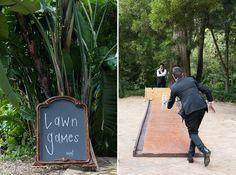 Lawn Games at Weddings Bowling Courtyard Wedding, Lawn Games, My Secret Garden, Wedding Venues, Wedding Ideas, Bowling, Photography, Outdoor, Weddings