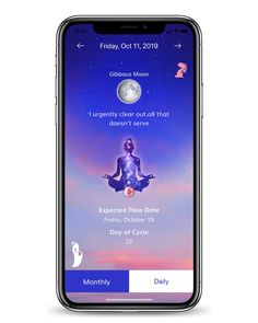 Unlock the power of your cycle and track your alignment with the moon! Tap into the cosmos, drop into your feminine power, and embrace the potential of your flow with My Moontime. Made by females, for females.