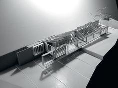 Maquette Center for Information by penda / concept - Buscar con Google