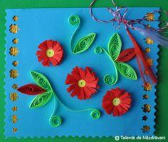 Martisoare cu floricele din hartie   Talente de Năzdrăvani