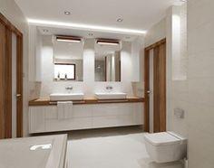 łazienka w bieli - Łazienka, styl nowoczesny - zdjęcie od All Design Agnieszka Lorenc