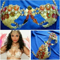 Customize wirebra for Cropover client #gingerwirebras #samba #cropover