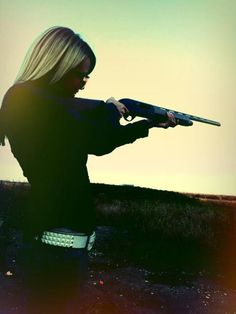 Go Out shooting!!! (: talk About a stress reliever. Sounds like a plan as soon as we get back from mudding this weekend.