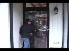 3M Security Window Film Demo - YouTube