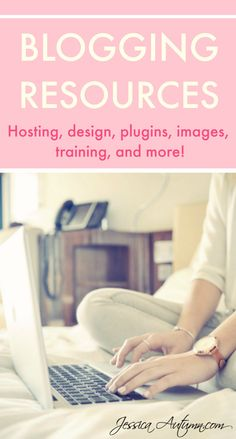 Blogging Resources. These blogging recommendations are very helpful. This…