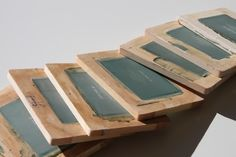 What an awesome way to make lots of mini screens for screen printing!