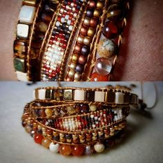 Un 5 rangs pour ma cops  #miyuki #perle #bijoux #boheme #chic #tissage #bead #beads #beading #jewelry #fashion #outfit #accessoire #accessories #style #instagood #handmade #homemade #colors #original #bohemian #ootd #design #boho #vintage #art #etsy # wrapbracelet #bracelet #bracelets