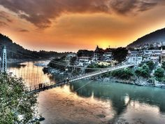 Laxman Jhula at Haridwar & Rishikesh The holy city of Haridwar and Rishikesh boasts of many travellers and is one of the must visit places in India in summers. Apart from the picturesque enchantments, temples and pilgrims worship centers, the destination is the adventure capital of India.