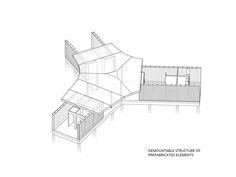 Imagen 18 de 18 de la galería de Tea House 'Tuin van Noord'  / GAAGA. Esquema Estructura