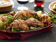 Grilled Tuscan Chicken from CookingChannelTV.com