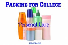 If you are a Mom of a college student, its go time for getting organized! Packing for College ~ Personal Care and Gillette #ad #college #MomTrends #Gillette