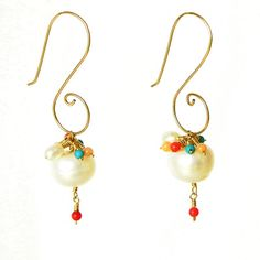 Pearls Nana Earrings