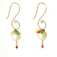 Pearls Nana Earrings