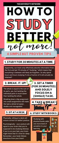 6 Simple Tips to Study Effectively Stress is real and so is procrastination. How do we study effectively under pressure? These 6 tips will help you study with ease and peace. Study Tips For High School, Life Hacks For School, College Study Tips, Tips On Studying, Studying In College, Study Tips For Exams, Apps For School, School Stuff, Study Tips For Students