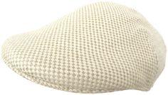 Headchange Made in USA 100% Linen Duck Bill Pub Cap Summer Ivy Scally Drivers Hat