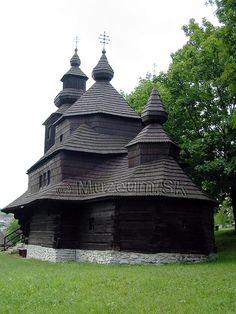 Nova Sedlica Muzeum.SK - Drevené kostolíky na Slovensku