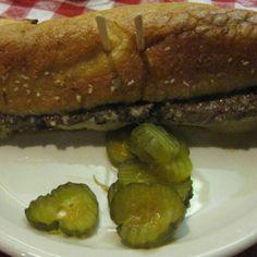 Poor Boy Steak Sandwich - can we all say Merichka's