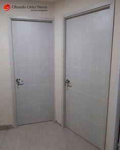 Fabricamos a la medida 👌 Cali, Colombia 🇨🇴 #puertascali #puertasdemadera #puertasmodernas #puertashogar #puertas #puertasmadera Cali Colombia, Armoire, Furniture, Home Decor, Bathroom Doors, Front Entrances, Home, Clothes Stand, Decoration Home