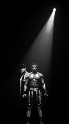 Creed II poster, t-shirt, mouse pad Rocky Series, Rocky Film, Boxing Posters, Movie Posters, Arlequina Margot Robbie, Micheal B Jordan, Creed Movie, Silvester Stallone, Heroes
