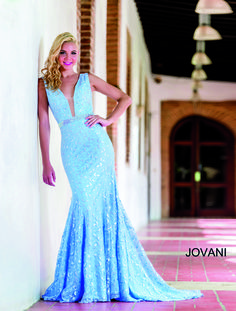 While we can't help you find your dream date, WhatchamaCallit Boutique has your dream dress. Check out Jovani Style 22917 today