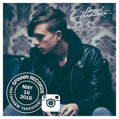 Today Im taking over Spinnins instagram account come check me out over there! @spinninrecords by headhunterz