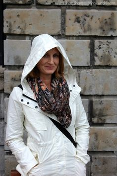 Tammy from Keep Them in Stitches looks ready for all kinds of weather in that stylish jacket she received in her last Fix.