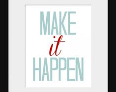 Quote Print Wall Decor Today is a Great Day by PaperPatchPrints