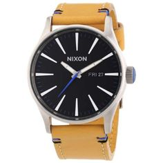 Reloj nixon the sentry leather a1051602