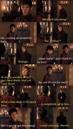 One of the funniest Merlin scenes! It always makes me smile...