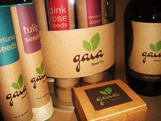 Recyclable Plant Packaging - Gaia Branding by Carla Torres Has an Earth-Friendly Aesthetic (GALLERY)