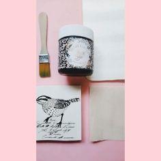 """Sellos Cable A Tierra on Instagram: """"Y se vino el tutorial de este sellito tan bello hecho con pintura a la tiza❤️ • Díganme si no aman la pintura a la tiza, yo soy fan🙌🏼 • ¿Te…"""""""