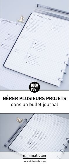 Ways to Use Your Bullet Journal for Best Results – Bullet Journal 101 Bullet Journal Project Management, Bullet Journal Organisation, Diy Organisation, Bullet Journal Notebook, Bullet Journal Inspiration, Agenda Bullet, Weekly Log, Projekt Manager, Tip Top