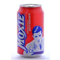 Moxie Original Elixir Soda Cans - 12 oz (12 Pack)