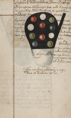 Aqua Alba (white water) from Johann Grasshoff's Alchemical Notebook, 1620.