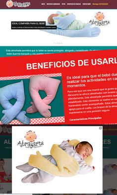 Abrazarte Almohadas: Website