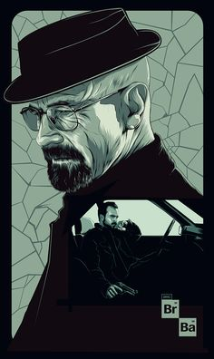 "heisenbergchronicles: "" Breaking Bad Poster by Oliver Merza in Manila, Philippines """