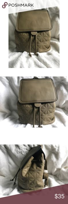 Olive Quilted Backpack Length: inches Height: 12 inches Great quality.  Color and quality is the same as in the picture.  Just 1 olive left.  Also available in Mauve & Black color.  Brand new. ✨FINAL SALE✨ ✨NO REFUNDS✨ TopFashionBoutique Bags Backpacks