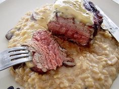 Mushroom Risotto from Le Cellier at Canada - Epcot | Courtney WM | Copy Me That