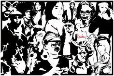 """""""STREET ART WARS I"""" ·:·:::. A B O U T ✤ I N F O created in berlin / germany. finetuned in copenhagen / denmark. dedicated to berlin's street embe. Berlin Street, Street Art, Copenhagen Denmark, Berlin Germany, War, Gallery, Artist, Prints, Space"""