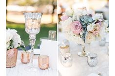 center pieces The Ranch at Laguna Beach wedding details by Los Angeles wedding photographer Loie Photography Southern California wedding & engagement photography