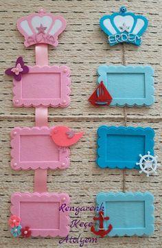 3 Framed Children's Room Wall Decorations – Teen Bedroom – – 3 Framed Children's Room Wall Decorations – Teen Bedroom – – Kids Crafts, Diy Arts And Crafts, Baby Crafts, Felt Crafts, Paper Crafts, Popsicle Stick Crafts, Craft Stick Crafts, Cadre Photo Diy, Foam Sheet Crafts