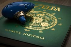 Hyrule Historia - A book on Zelda's history.