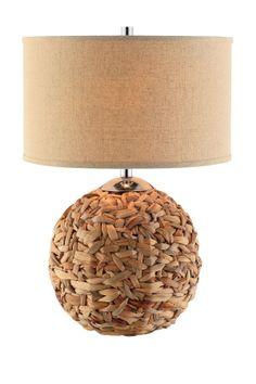 Lassiter Rattan Table Lamp