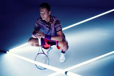 Tomas Berdych x H&M Tennis Collection Embraces Bold Electric Colors