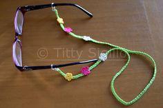 catenella per occhiali - eyeglass cord