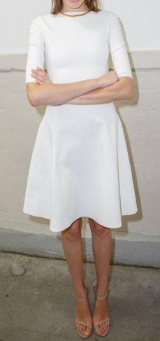 CFDA/Vogue Fashion Fund finalists announced for 2013 Fashion Mode, Vogue Fashion, Paris Fashion, Fashion News, Little White Dresses, White Outfits, Classy Chic, Glamour, White Style