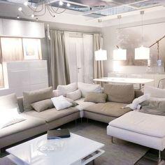 soderhamn ikea - Buscar con Google Cosy Living Room, Ikea Inspiration, House Rooms, Home Living Room, Apartment Decor, Eclectic Living Room, Home, Home Design Decor, Ikea Living Room